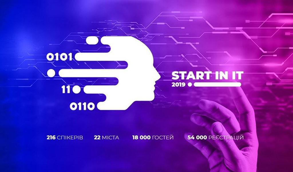"Вперше у Луцьку масштабна Конференція ""Start in IT"""