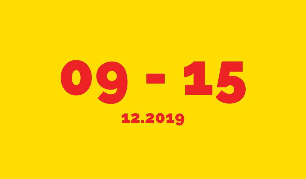 Події у Луцьку цього тижня 09-15.12.2019