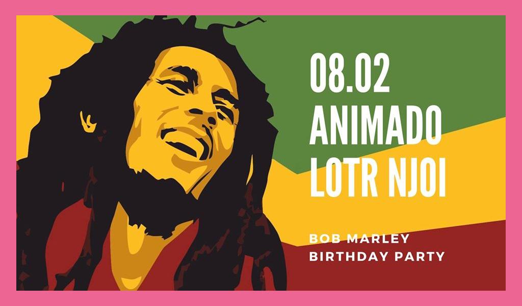 Bob Marley B-day
