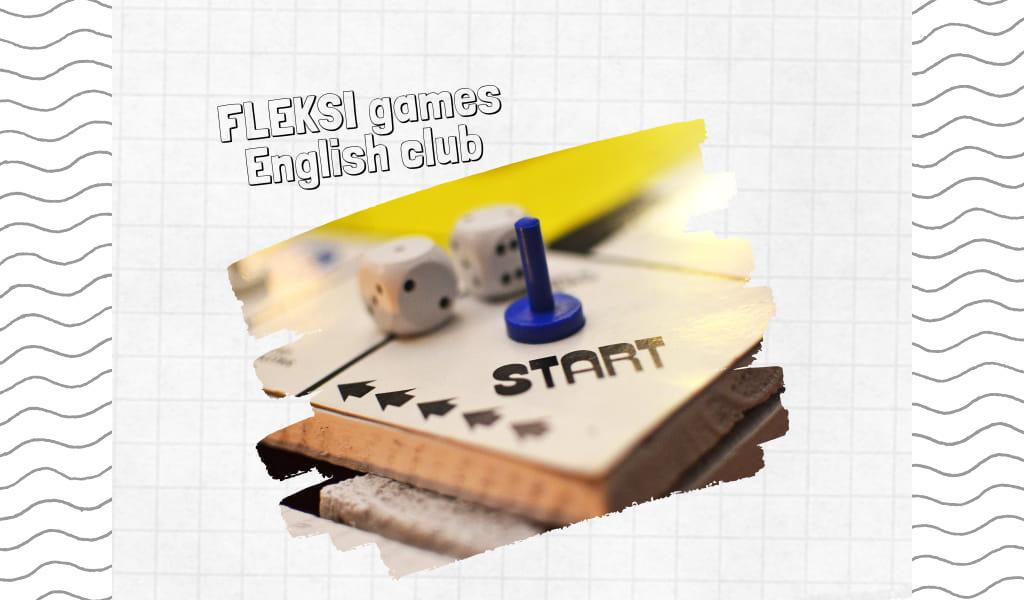 Ігровий клуб англійською Fleksi games для дітей та підлітків