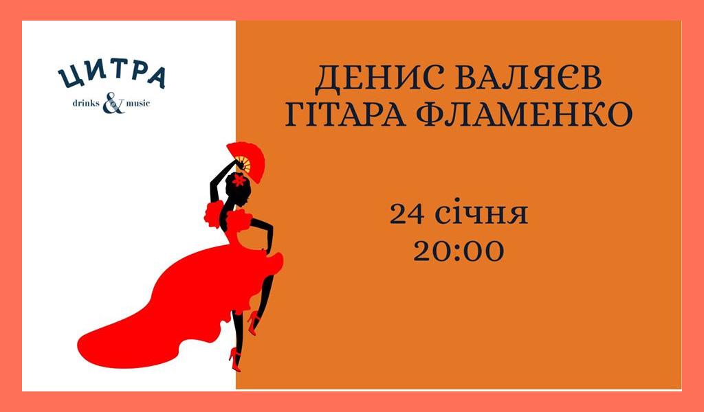 Денис Валяєв – Гітара Фламенко 24.01