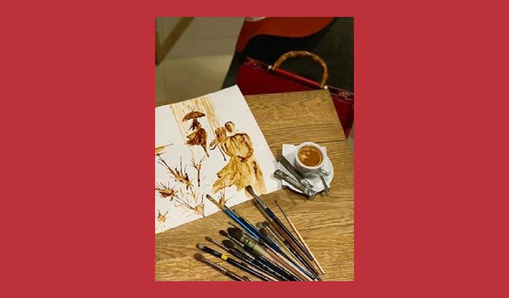 Майстер-клас Ароматна кавова картина