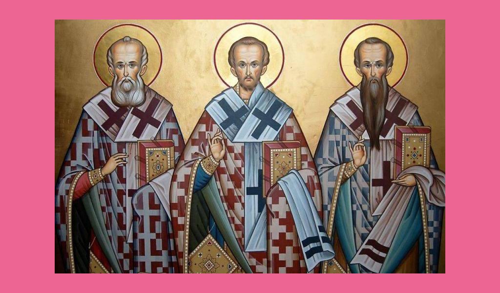 12 лютого – Собор трьох святителів