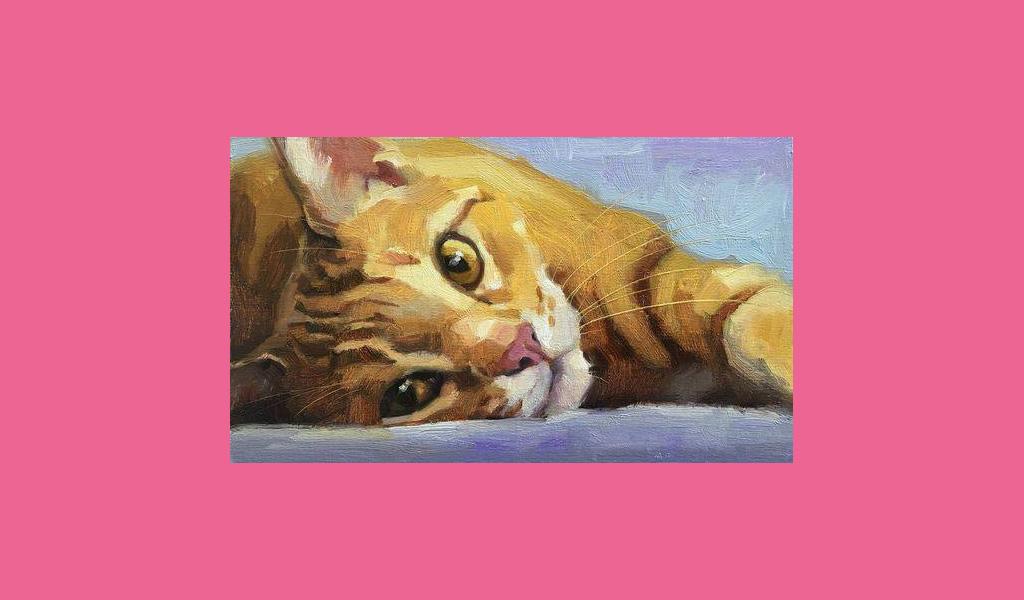 """Майстер-клас із живопису для дорослих """"Cats"""""""