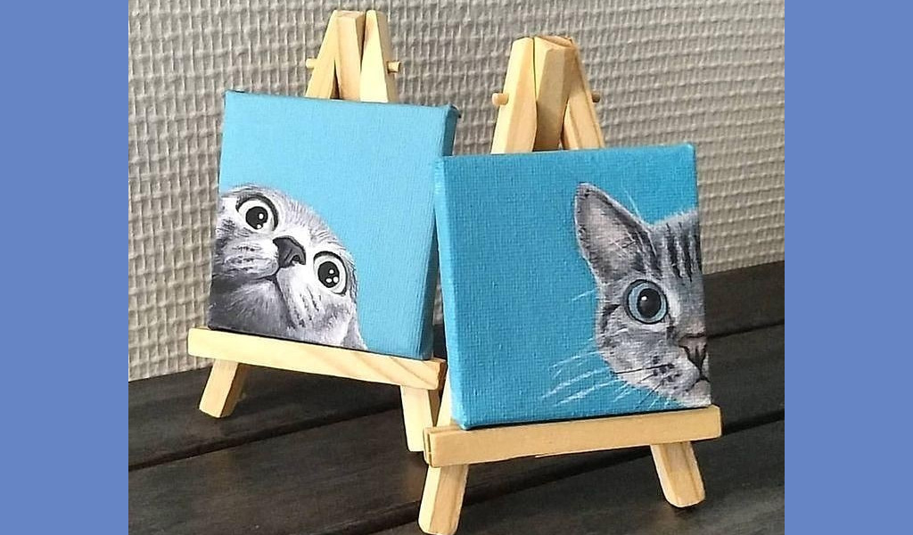 Майстер-клас з живопису : Малюємо і творимо подарунок