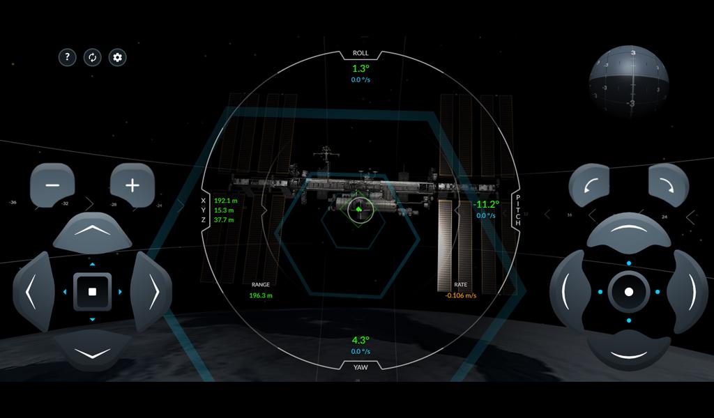 Симулятор стикування з космічною станцією від SpaceX