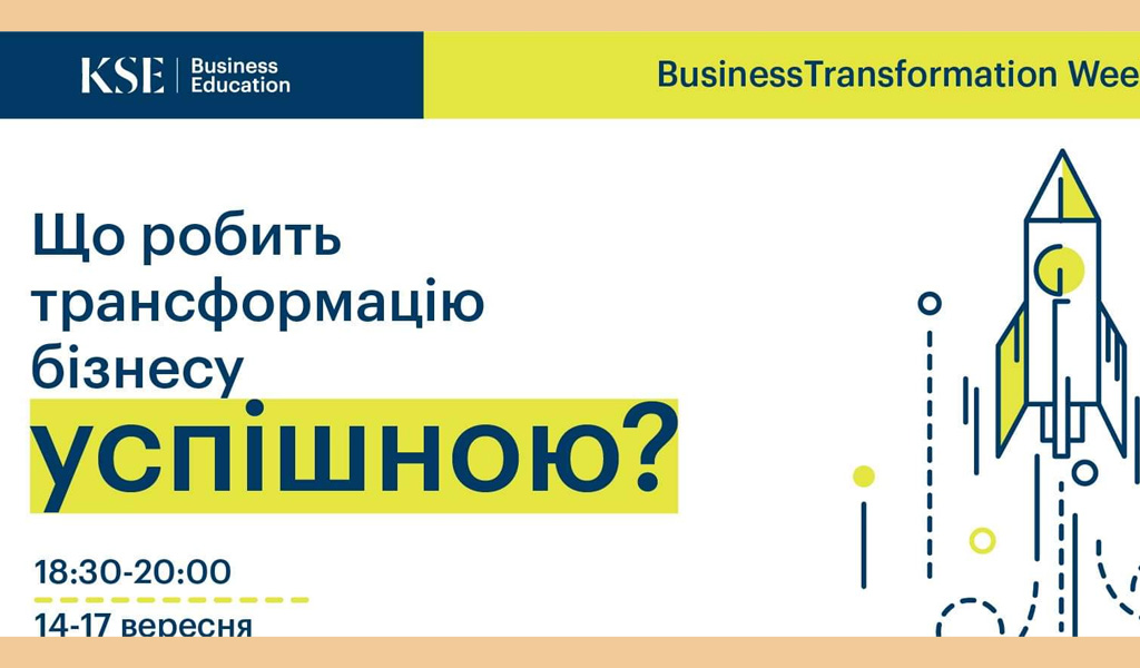 Business Transformation Week 2020