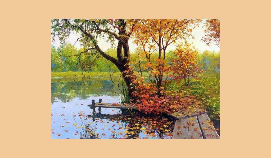 """Майстер-клас із живопису для дорослих """"Чарівна осінь"""""""
